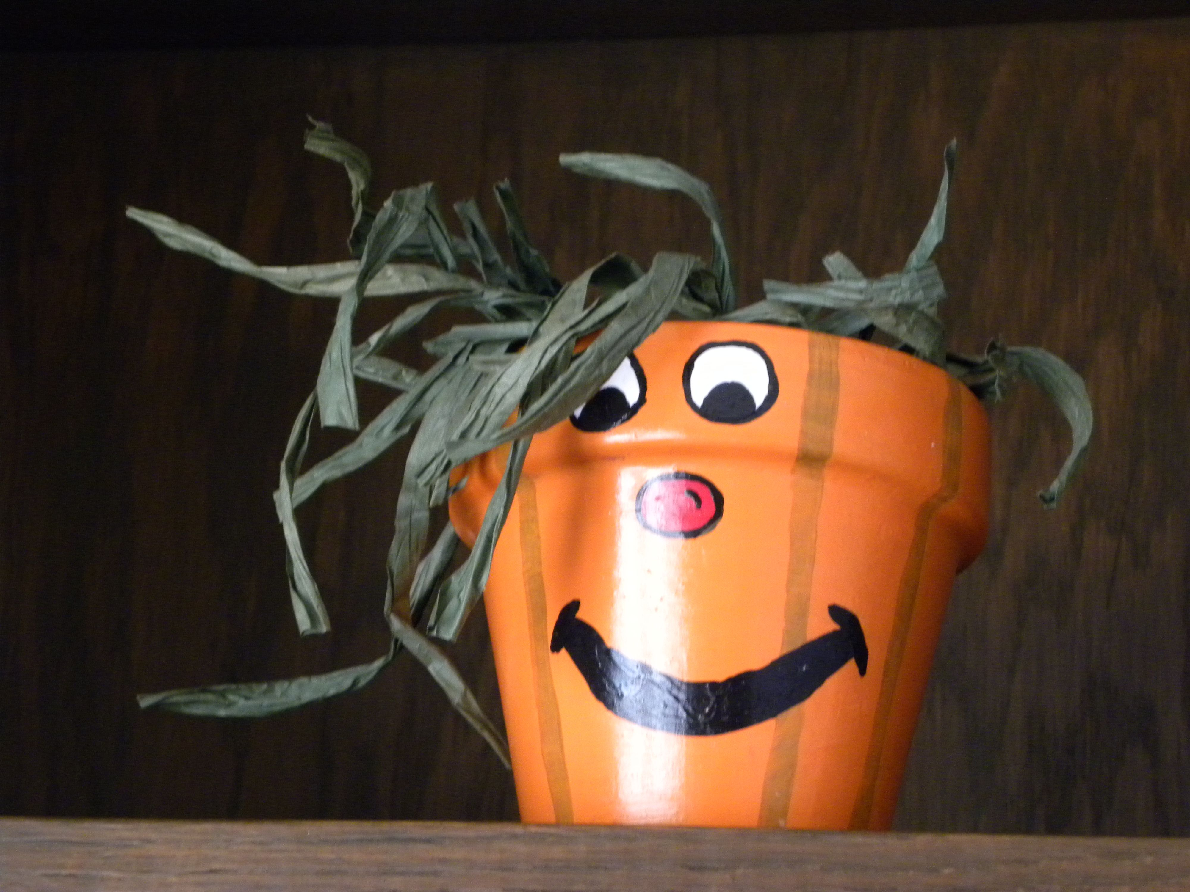 Two Piece Vintage Terra Cotta Pumpkin By Shavingkitsuppplies On Etsy Vintage Halloween Pieces Vintage Cute Halloween