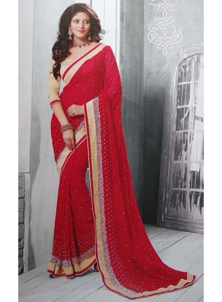 Party Wear Sari Indian Ethnic Designer Bollywood Wedding Saree Dress  nsr1278 #Unbranded #Sari