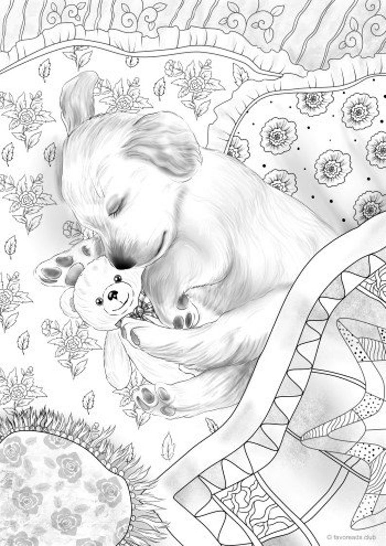 Colour Calm 07 Sampler Dog Coloring Page Dog Coloring Book Puppy Coloring Pages