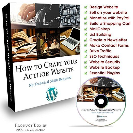 How To Craft Your Author Website No Technical Skills Required - list of technical skills