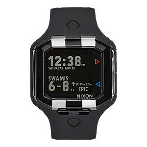 Nixon Ultratide LTD SW Watch - Vader Black | ThinkGeek