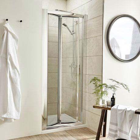 Pacific Bi Fold Shower Door At Victorian Plumbing Uk Bifold