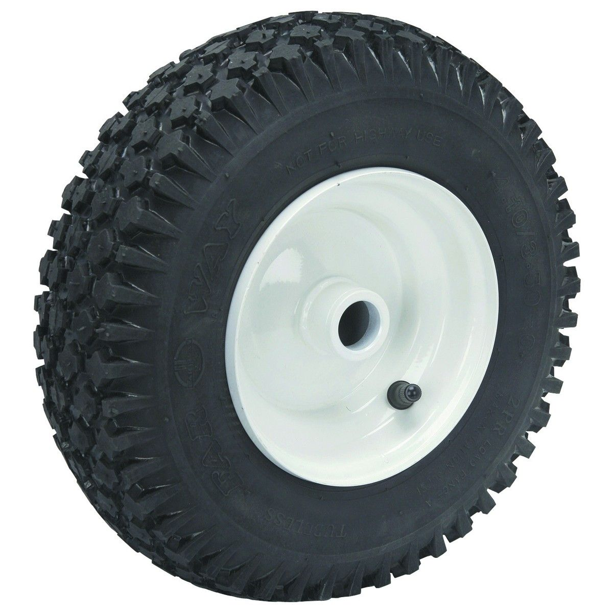 "13"" Replacement Tire with 6"" Hub for Trailer Dolly"