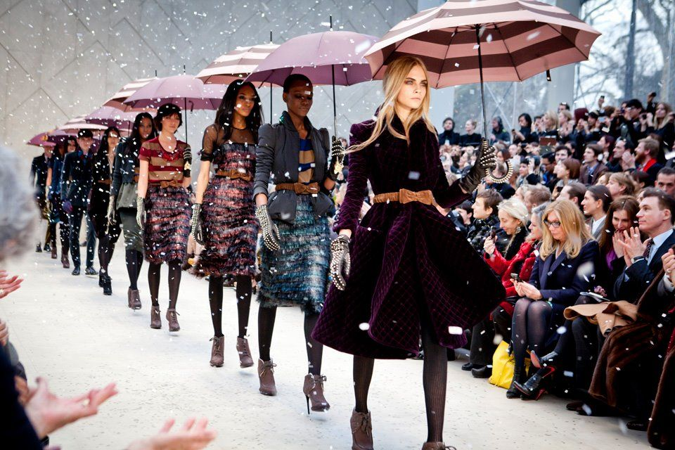 On The Runway Burberry Prorsum 2012 Top 10 Fashion Designers London Fashion Week Fashion