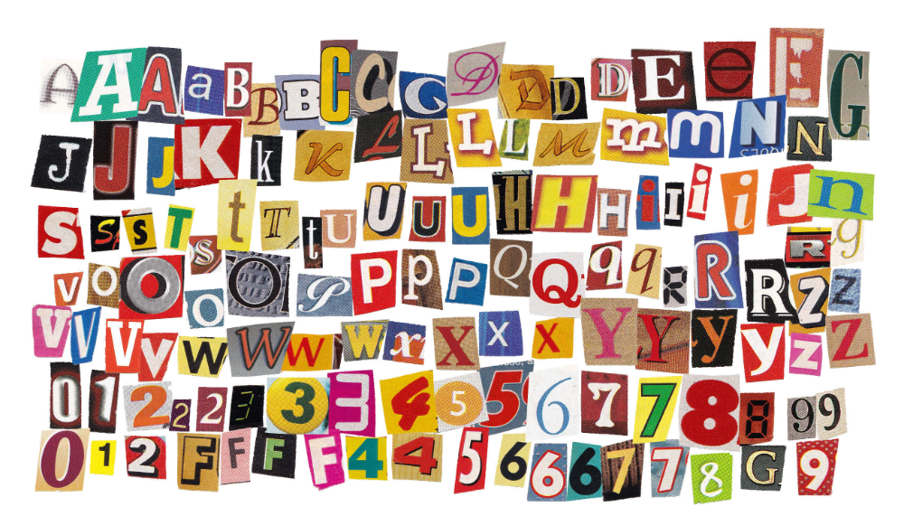 130 Newspaper And Magazine Cutout Letters Png Transparent Onlygfx Com Letter Collage Magazine Collage Word Collage