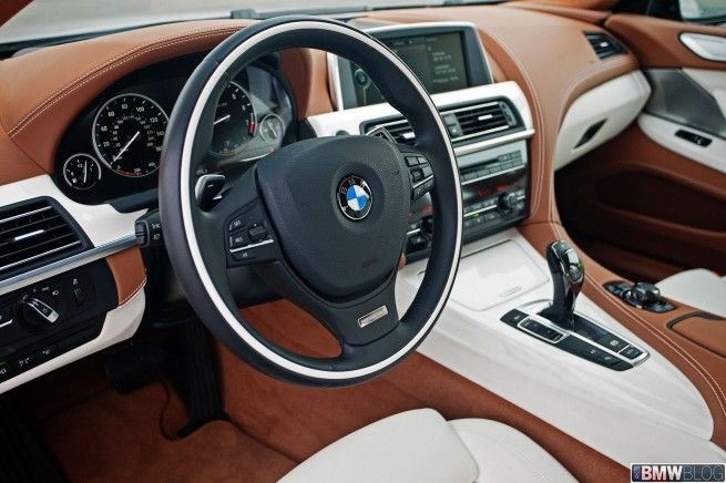 2013 Bmw 6 Series Gran Coupe Interior Bmw Interior Bmw 6 Series