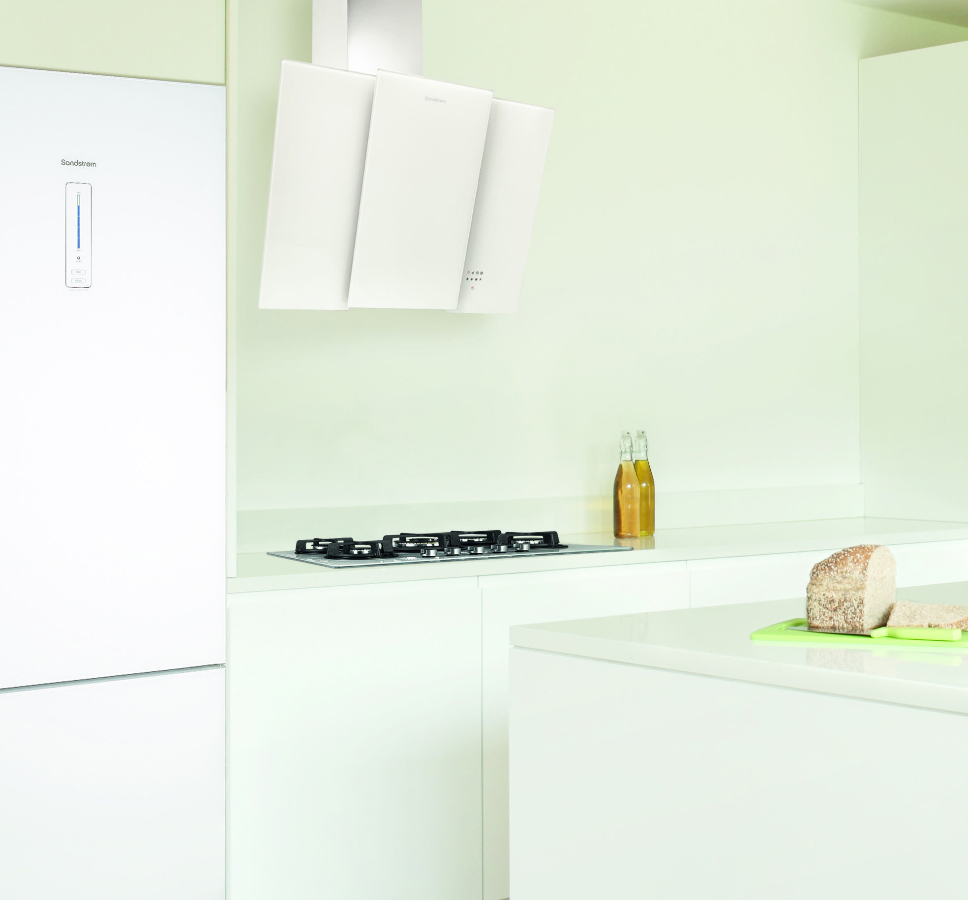 Orinda Oaks: Sandstrøm S80GHW13 White Cooker Hood Available @Curry