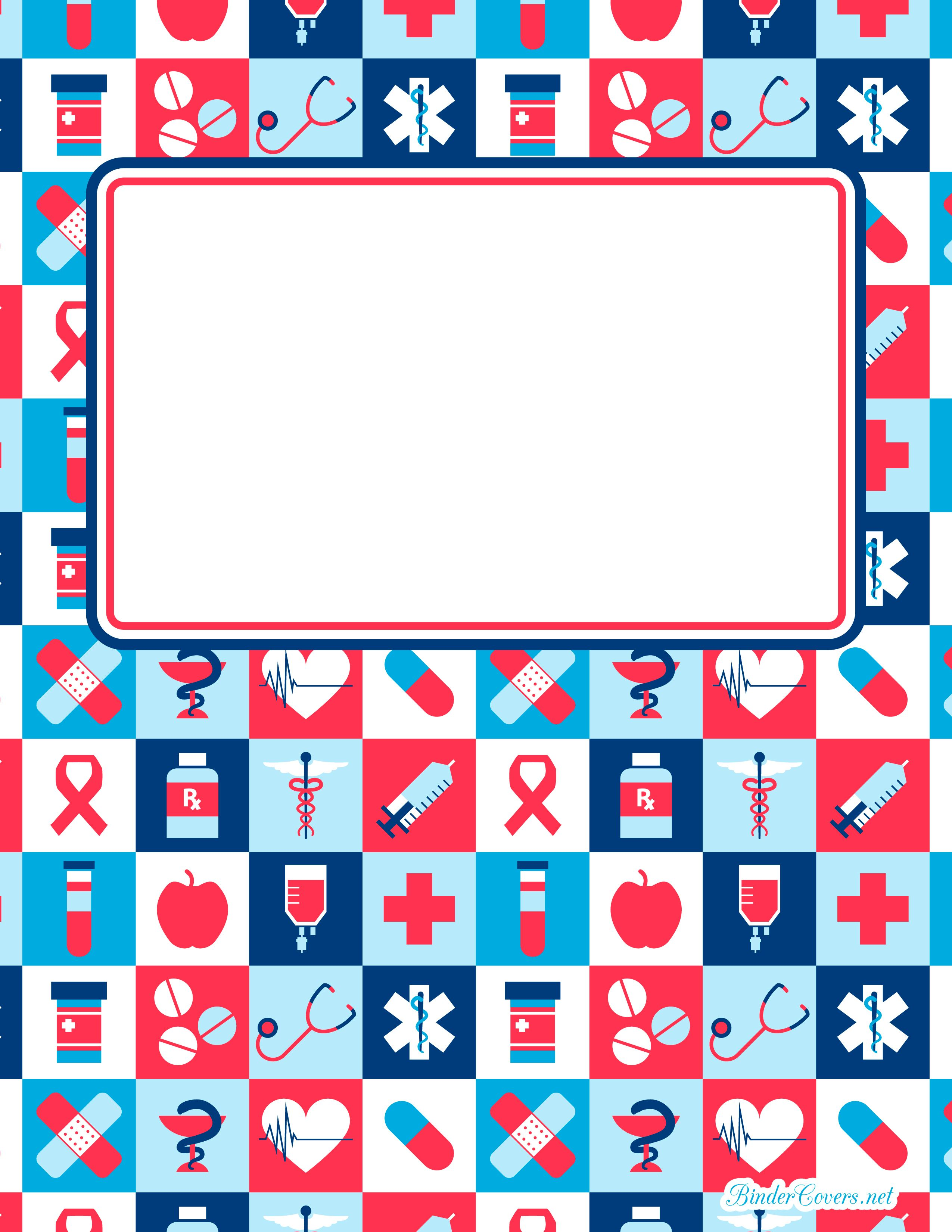 student binder cover templates