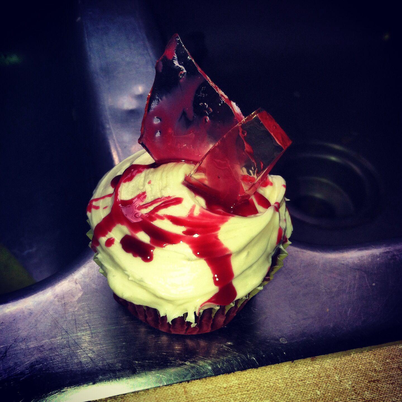 #bloodcupcakes #baking