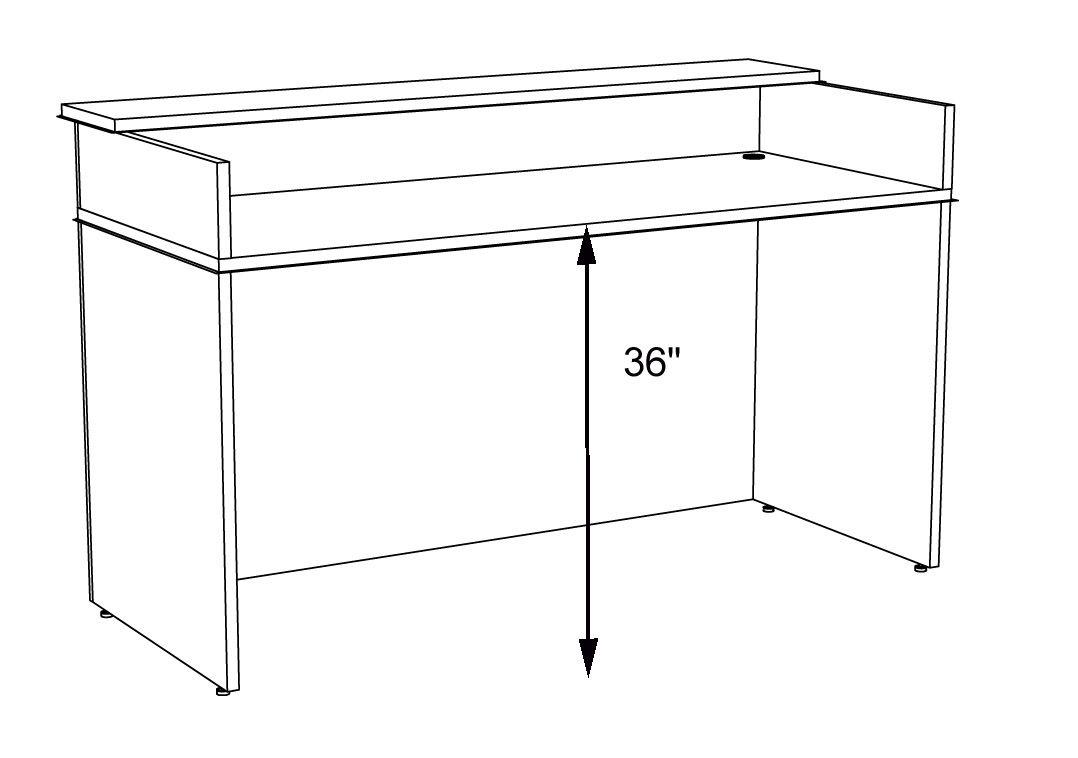 Image Result For Height Of Receptionist Desk Desk Height Reception Desk Height Standing Reception Desk