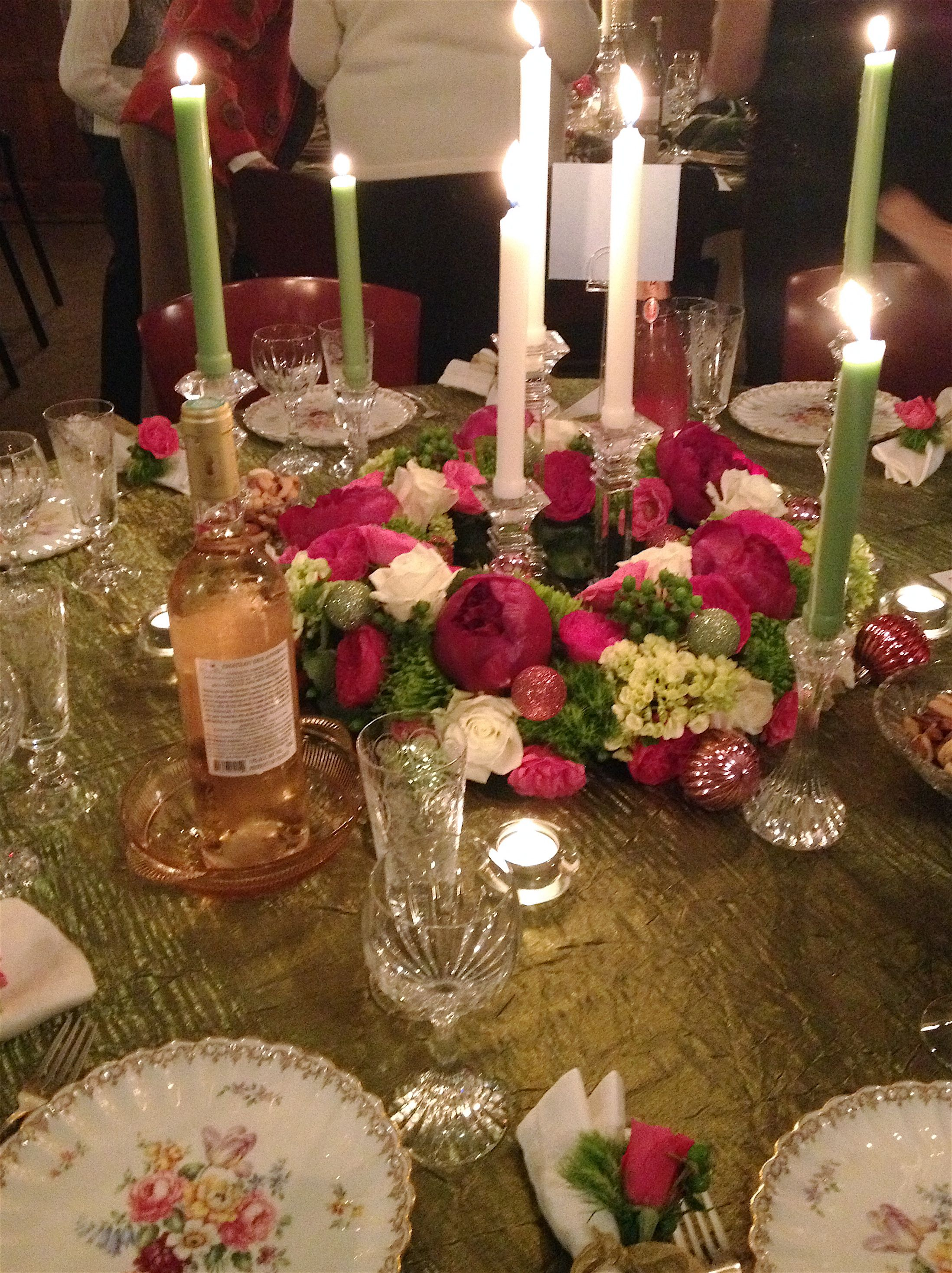 Advent by candlelight table christmas 2015 pinterest - Pinterest advent ...
