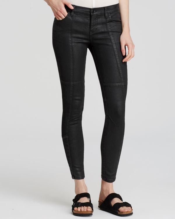 Free People Jillian Coated Skinny Jeans