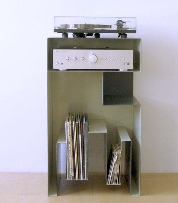 Ranger ses vinyles - Sélection meuble vinyle rangement pour platines