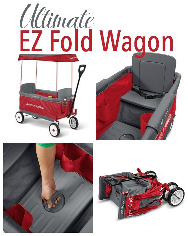 Radio Flyer Ultimate EZ Fold Wagon  sc 1 st  Pinterest & Radio Flyer Ultimate EZ Fold Wagon | Radio flyer Radios and Babies