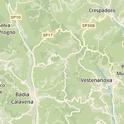 Mappa di Sprea - CAP 37030, stradario e cartina geografica | Tuttocittà