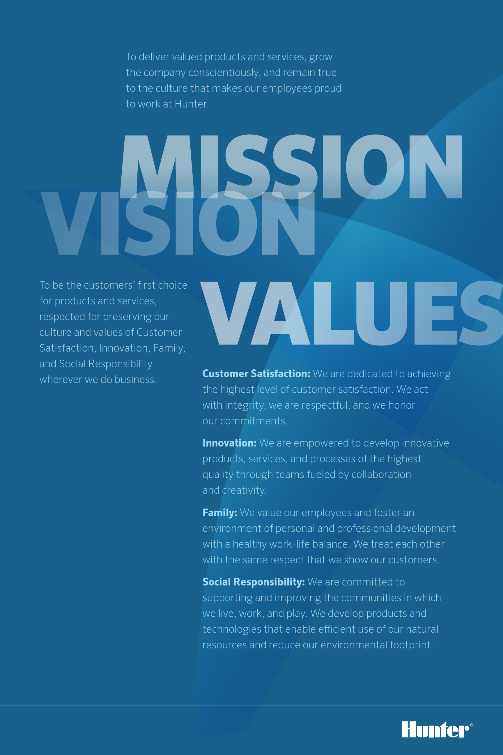 Image result for mission vision values poster | Business ...