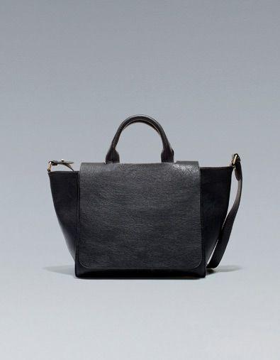 b554367f81 SAC CITY RABAT - ZARA | THAT | P U R S E | Zara handbags, Zara bags ...