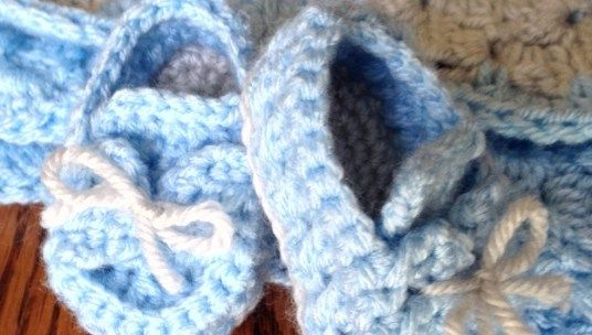 Photo of Baby Boy Blue Booties