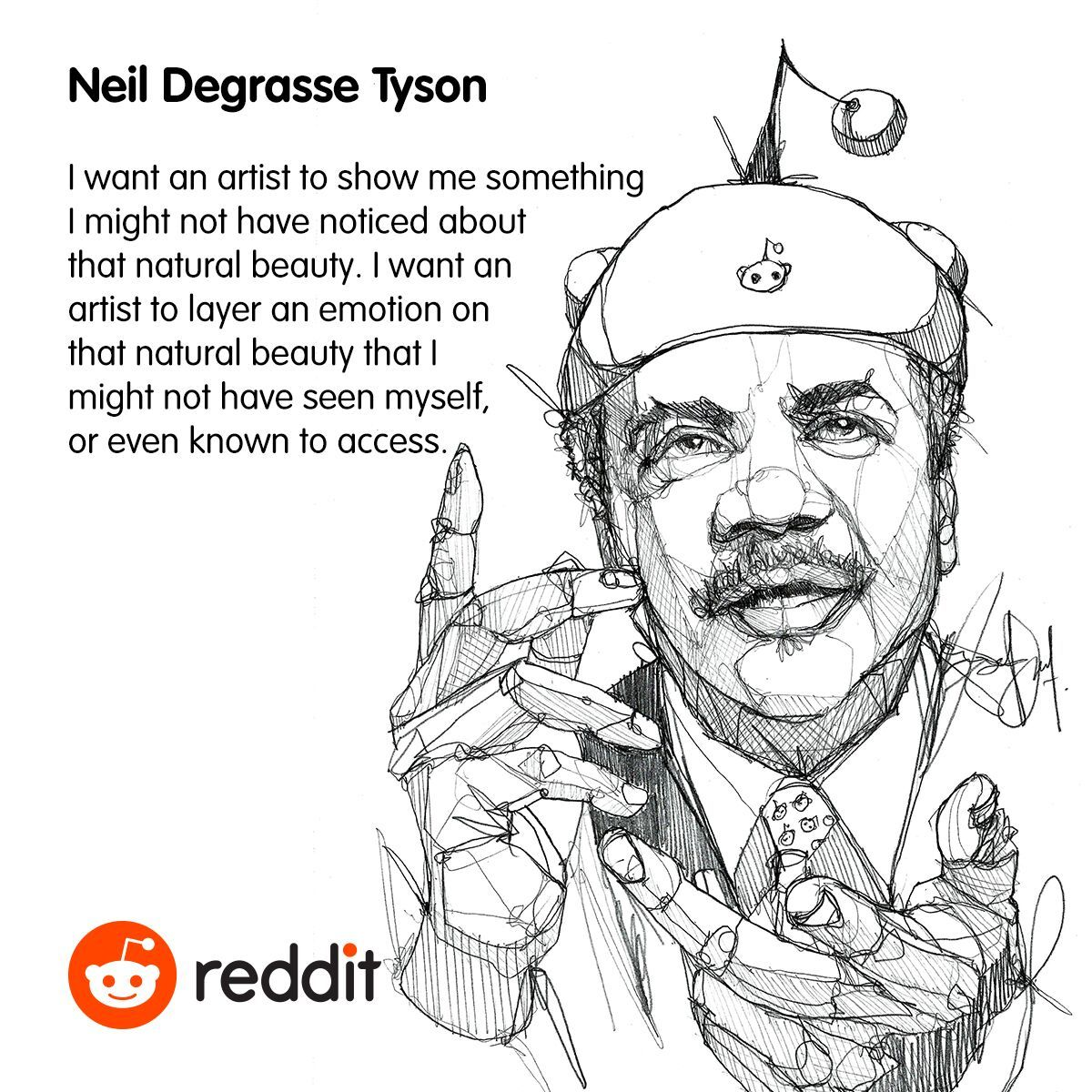 Astrophysicist cosmologist author neil degrasse tyson on