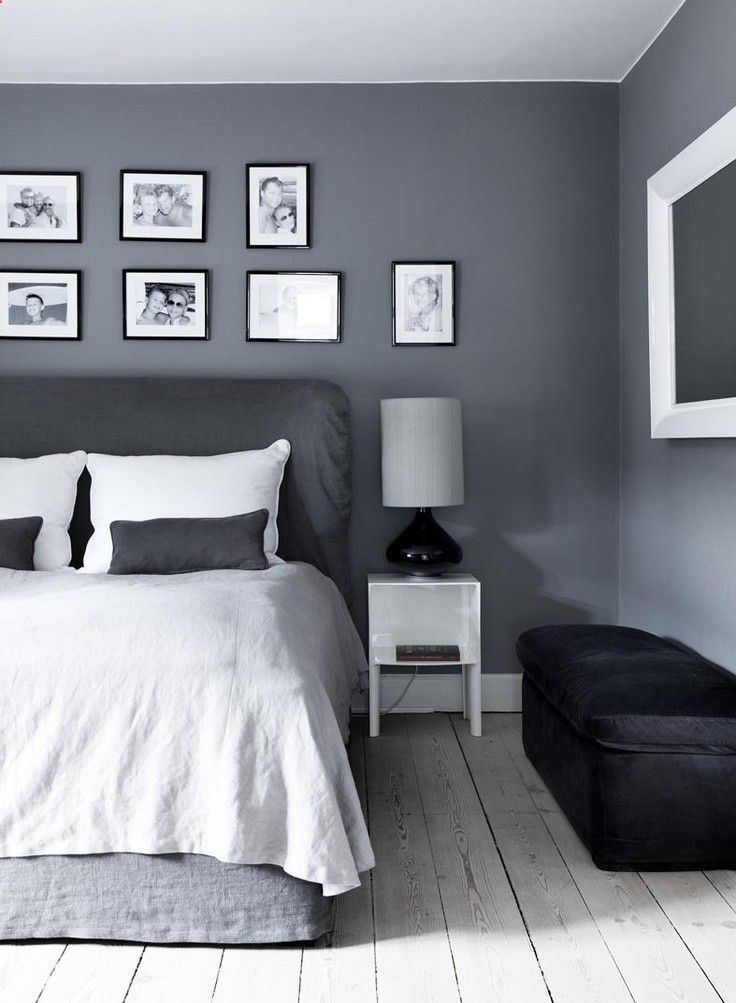 beautiful combo of varying greys with white. very Scandinavian ...