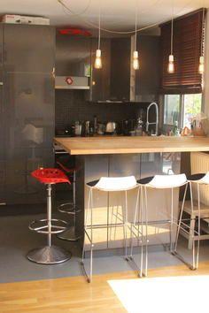Photo Deco Cuisine Moderne Appartement Boulogne Moderne Jeune - La salle a manger boulogne pour idees de deco de cuisine