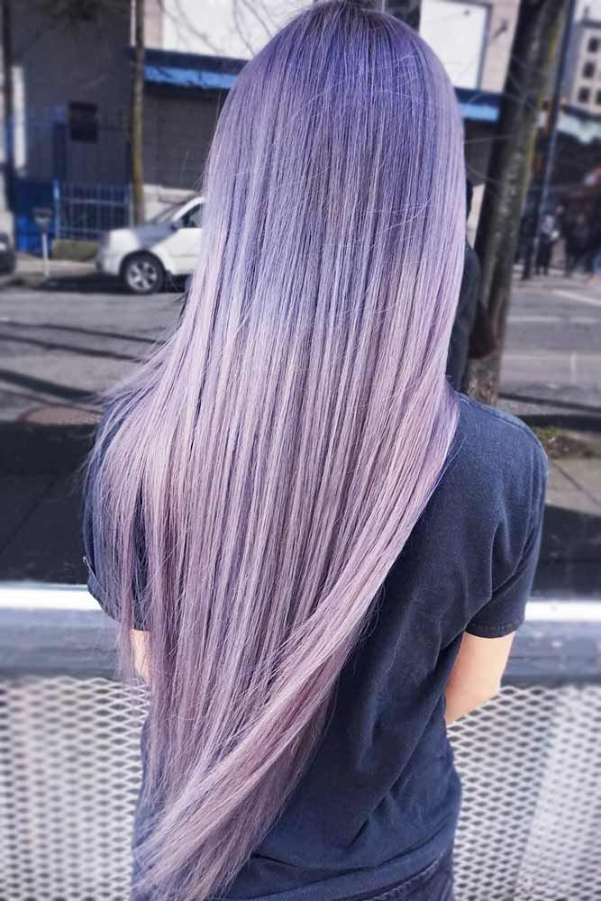 35 Trendy Lavender Hair Ideas To Play Around With