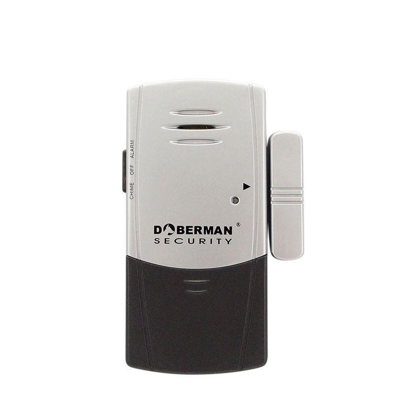 Doberman Security Ultra Slim Door Window Vibration Alarm Magnetic