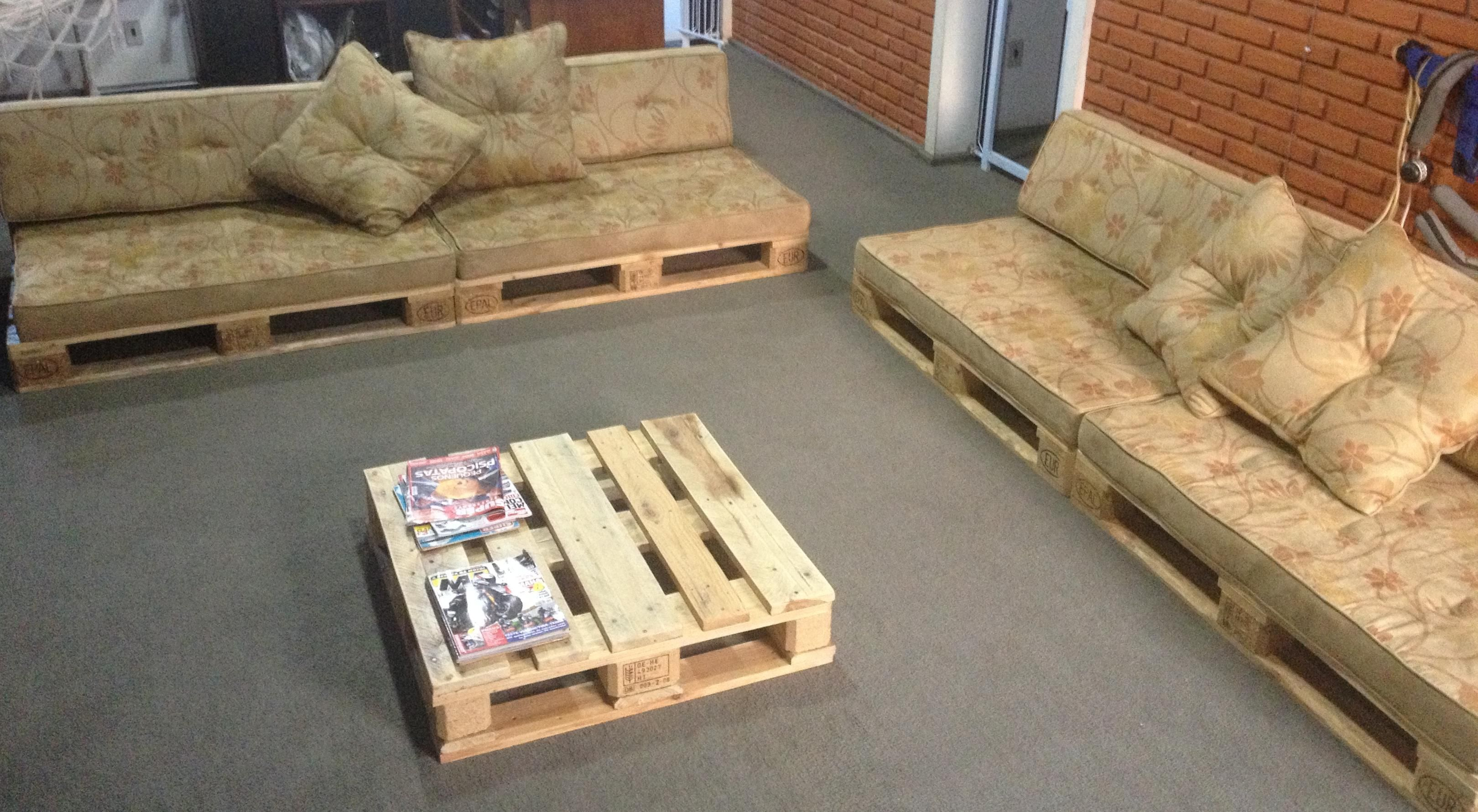 Diy pallet sofa with table 99 pallets - Recycled Pallet Furniture Ideas Diy Pallet Projects 99 Pallets Part 2