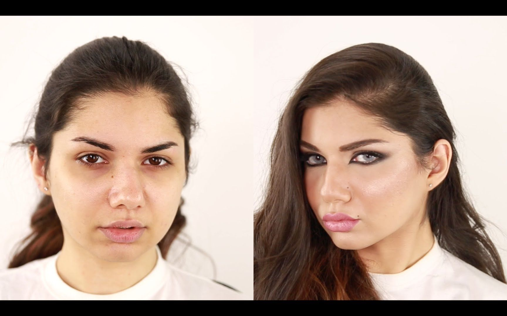 Arabian Haifa Wehbe Inspired Makeup Hanan Alnajadah مكياج حنان النجاده Hair Beauty Makeup Looks Makeup Inspiration