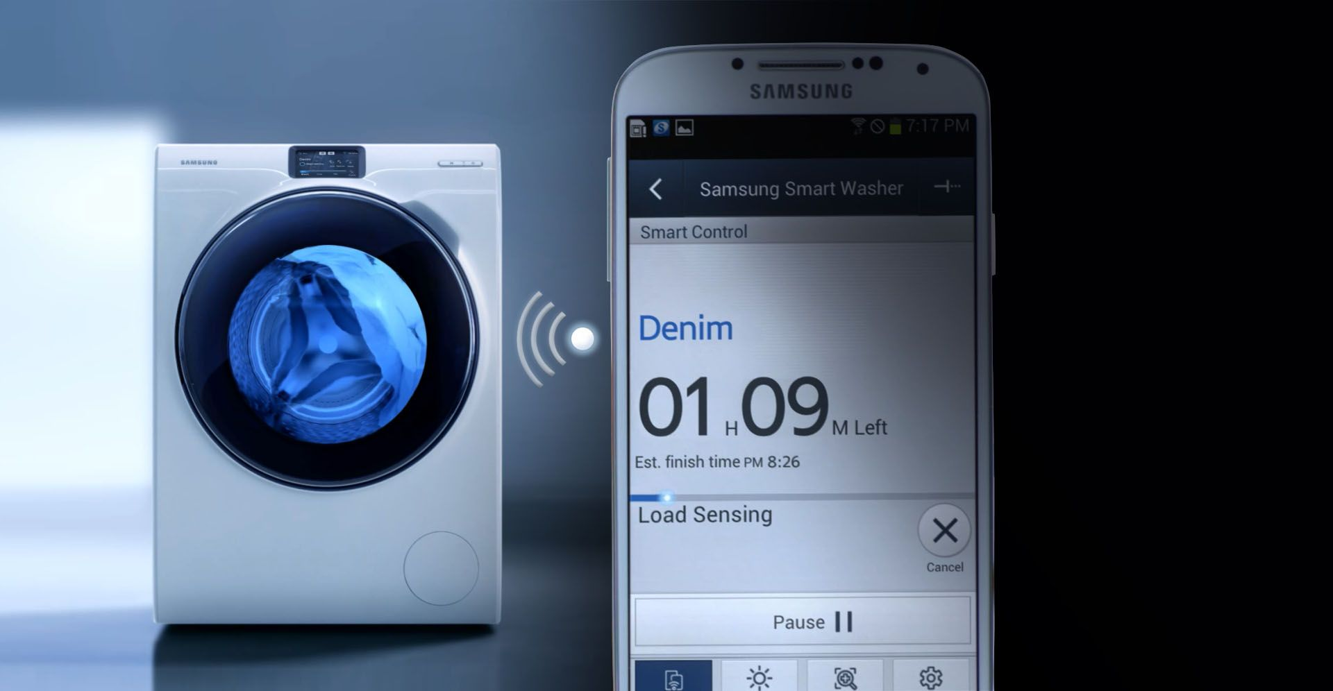 Samsung Wifi Smart Control Samsung Washing Machine Samsung