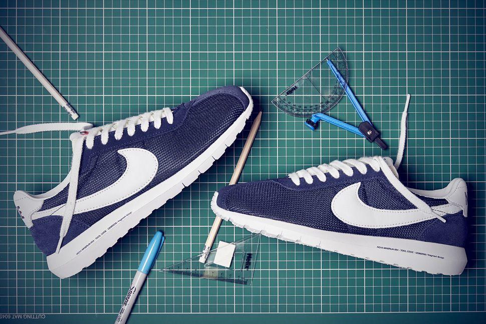 """Nike Roshe LD-1000 SP x fragment design """"Obsidian & White"""""""