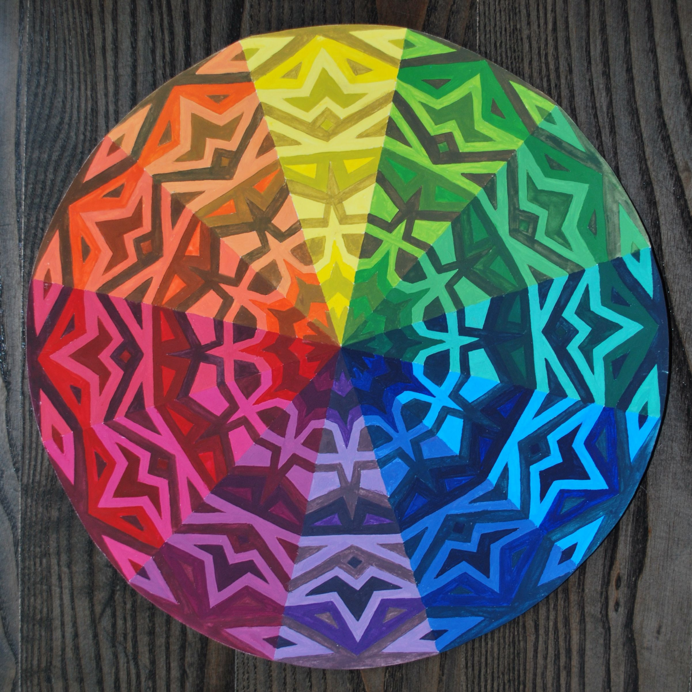 Color Wheel Designs Teaching Color Hue Shade Tint