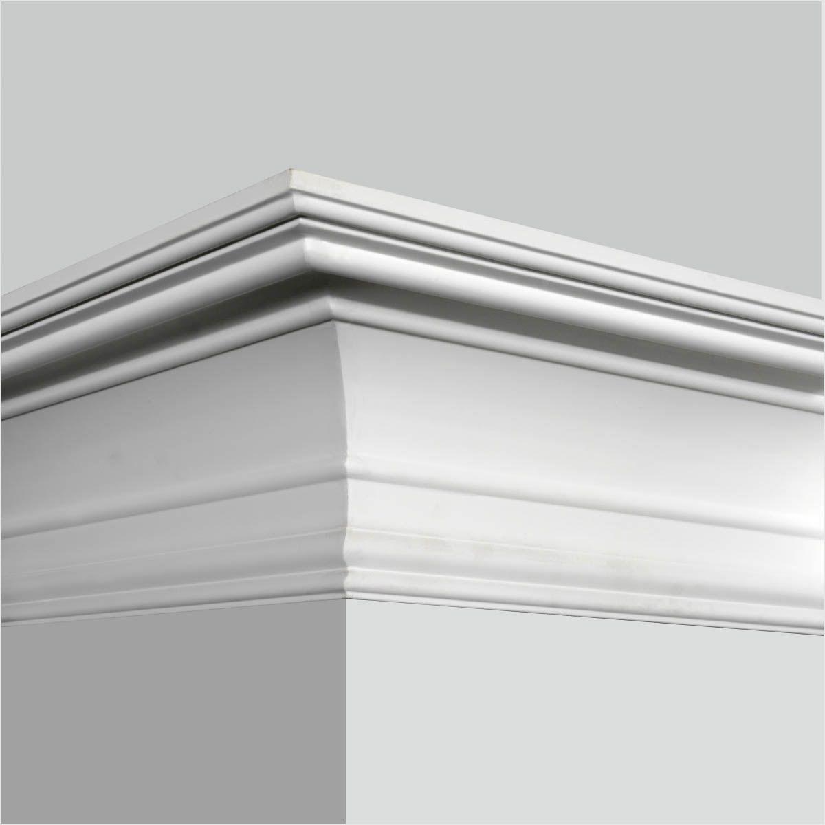 Polyurethane simple crown molding for sale moldings casings trim