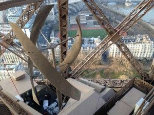 Eiffel Tower Ramps Up Renewables With Wind Turbines