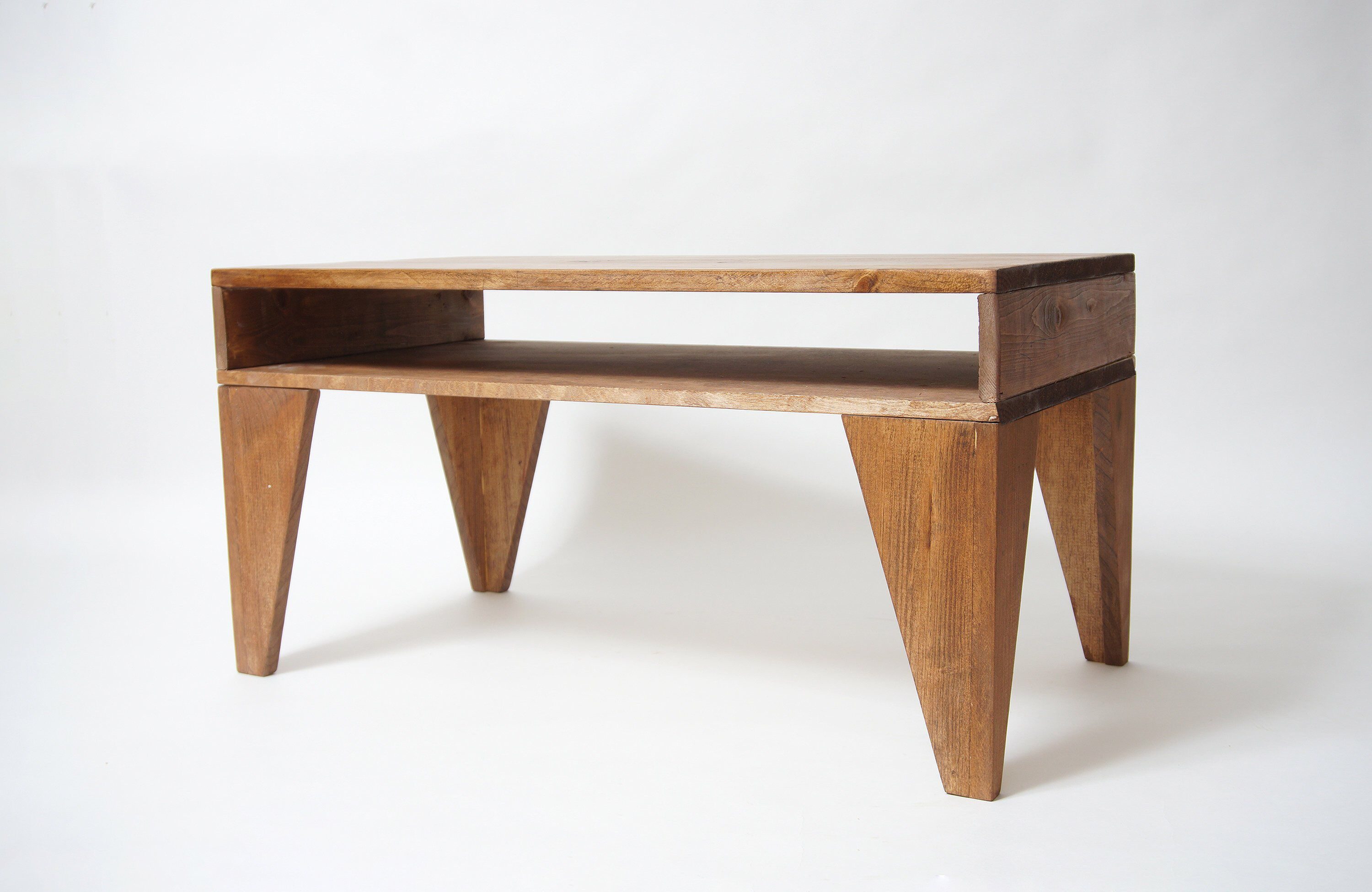 Angle Leg Coffee Table Modern Coffee Table Mid Century Table Rustic Wood Table Industrial Co Solid Wood Coffee Table Modern Coffee Tables Mid Century Table [ 1951 x 3000 Pixel ]