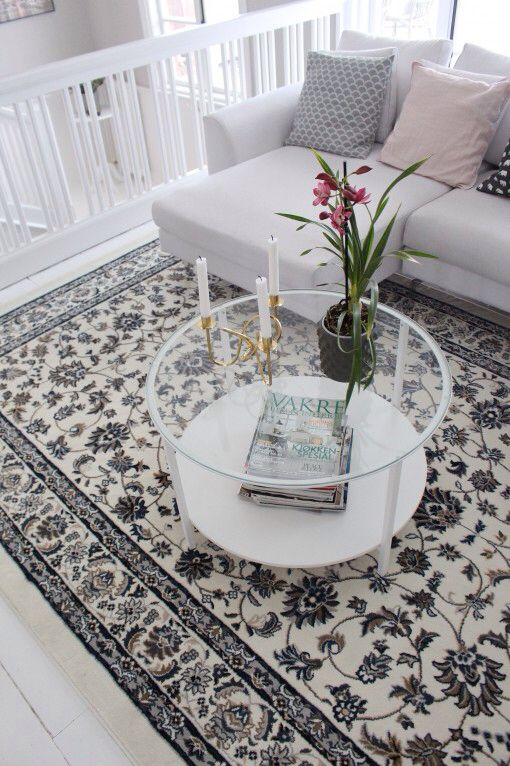 VALLBY Ikea Rug For Back Living Room 200x300cm 169 Euro