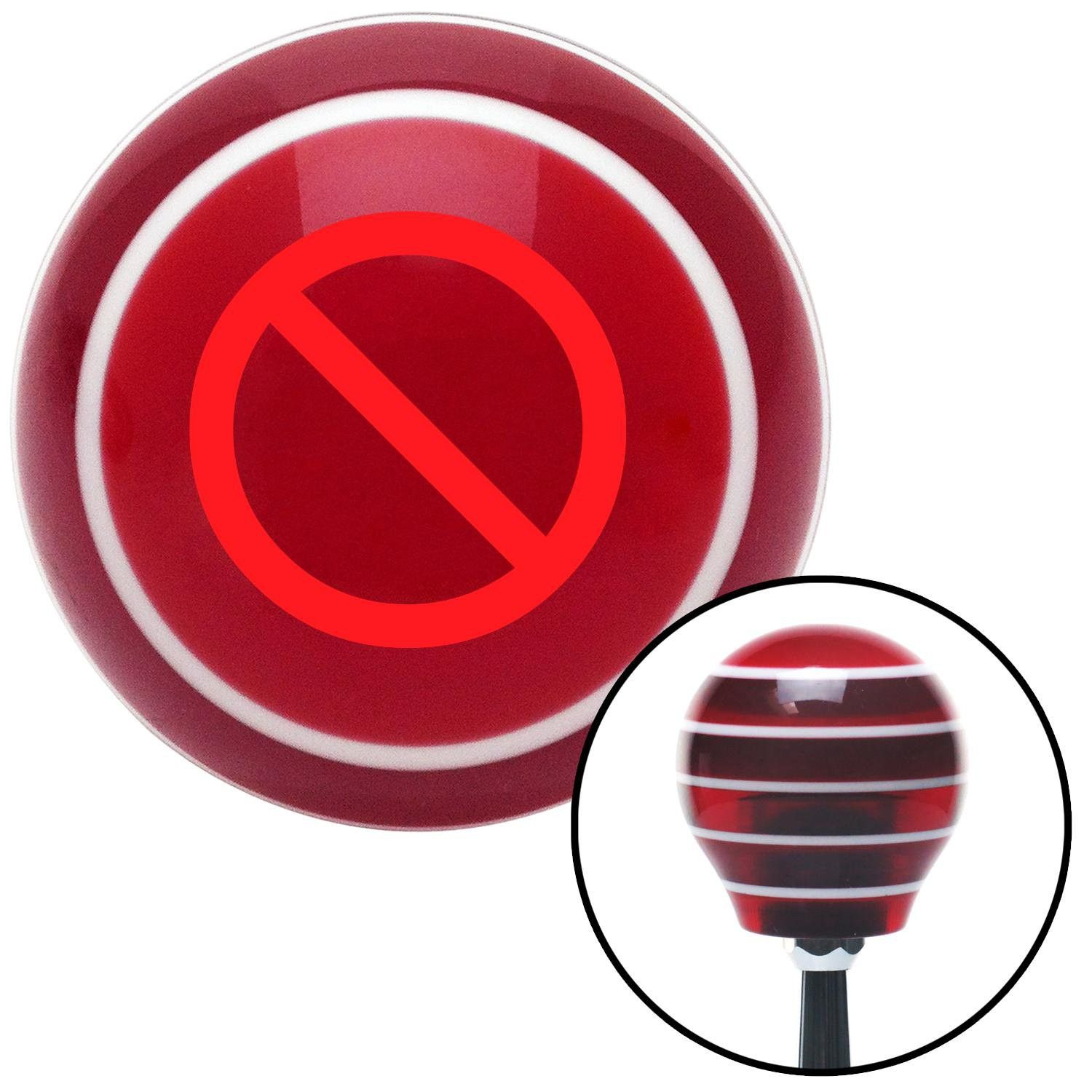 Red no symbol red stripe shift knob with m16 x 15 insert give your red no symbol red stripe shift knob with m16 x 15 insert give your interior buycottarizona Choice Image