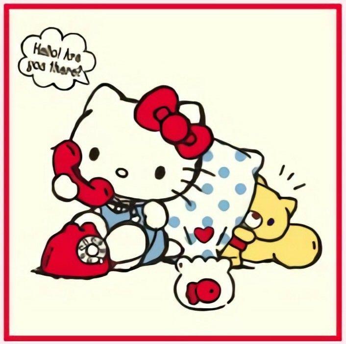 January 2019 Hello Kitty Calendar Hello Kitty Hello Kitty Hello