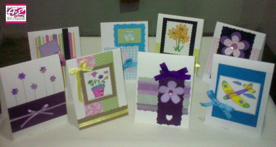 Tarjetas hechas a mano tarjetas Pinterest