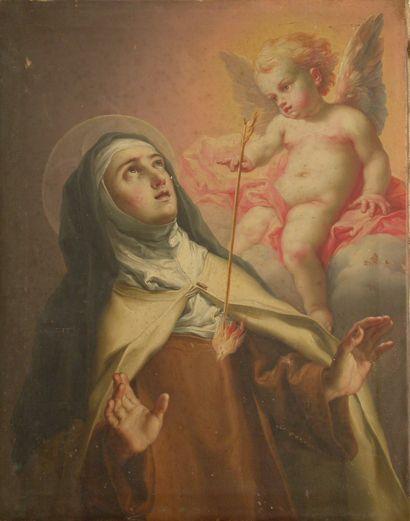 Éxtasis de Santa Teresa - Vicente López Portaña