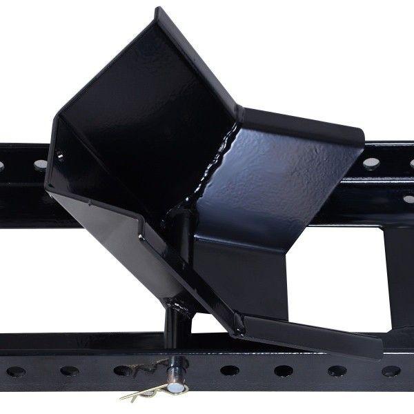 Motorcycle Stand Wheel Chock Adjustable Upright 1800lb Capacity Remolque Para Moto Motos Remolques