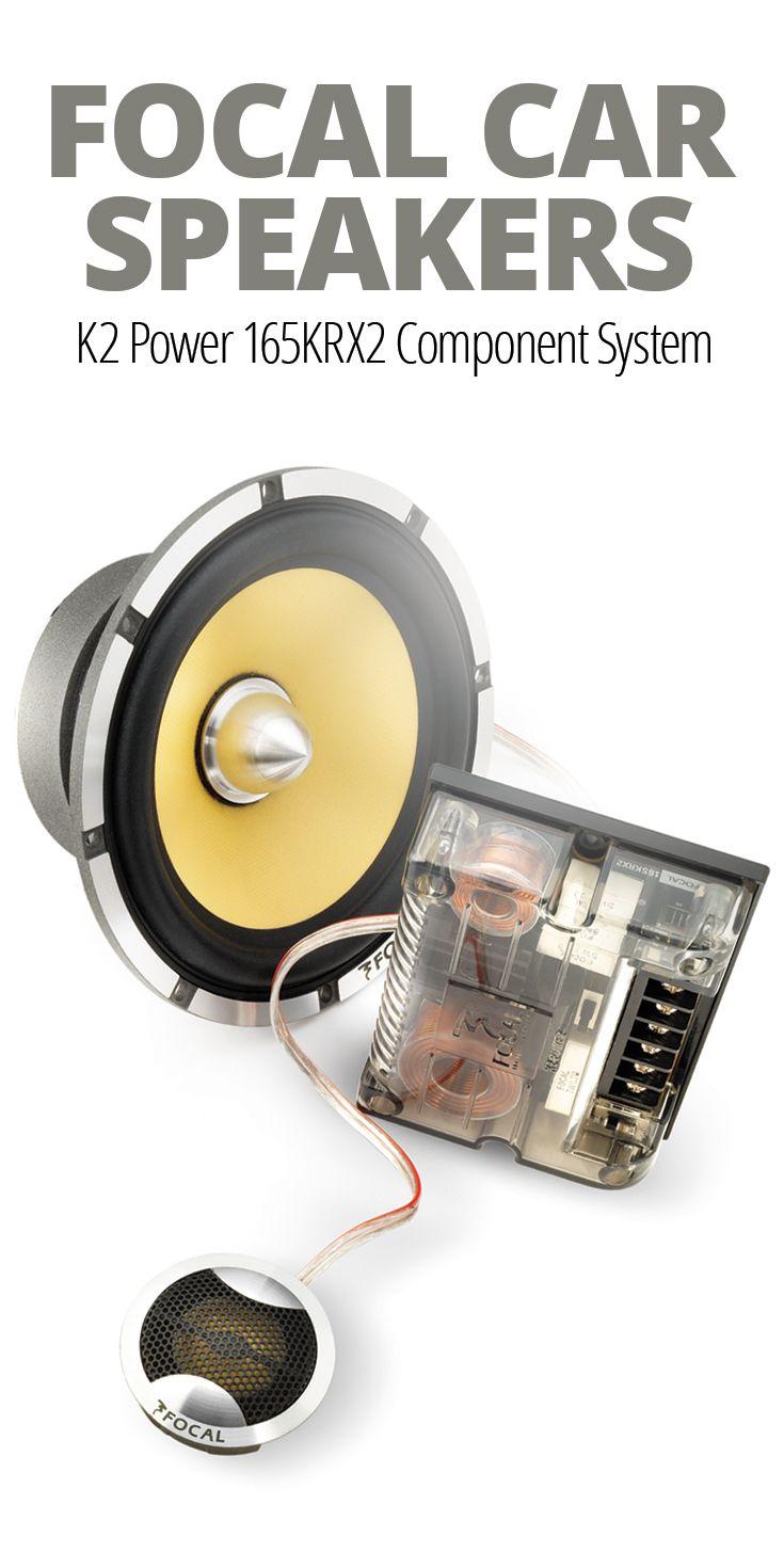 Focal K2 Power 165krx2 6 1 2 Component Speaker System At Crutchfield Focal Car Audio Car Audio Car Audio Subwoofers