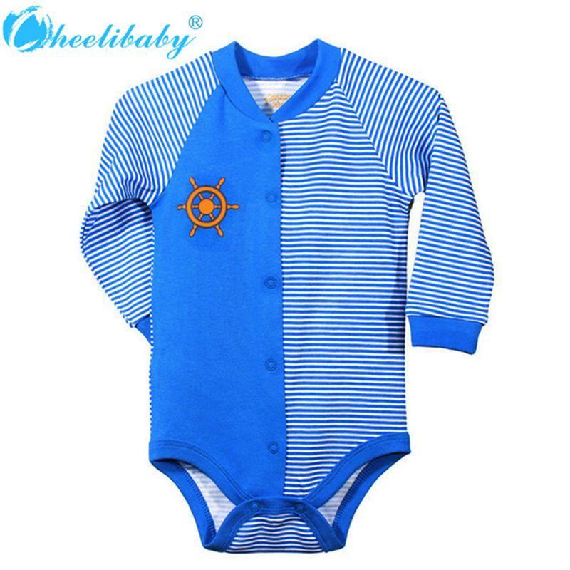 Cotton Newborn Baby Boy Summer Romper Bodysuit One Piece Outfits Promotion