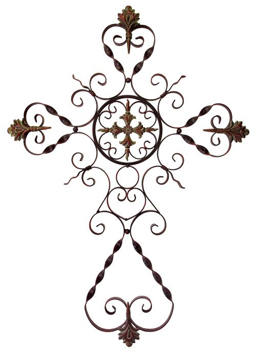 Scroll Design Wall Decor : Iron scrollwork wall decor decorative parisian