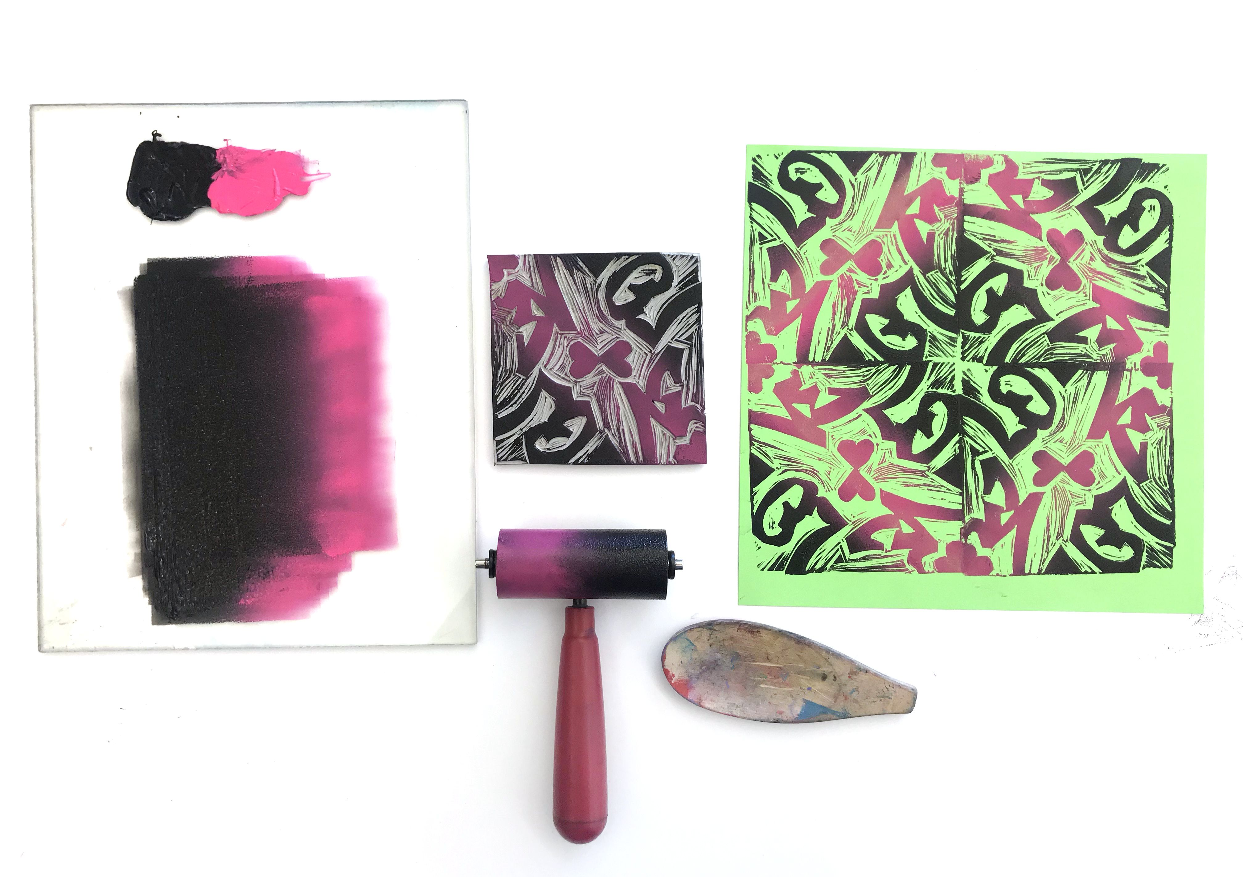 Create Stunning Block Printed Repeat Patterns Inspired By