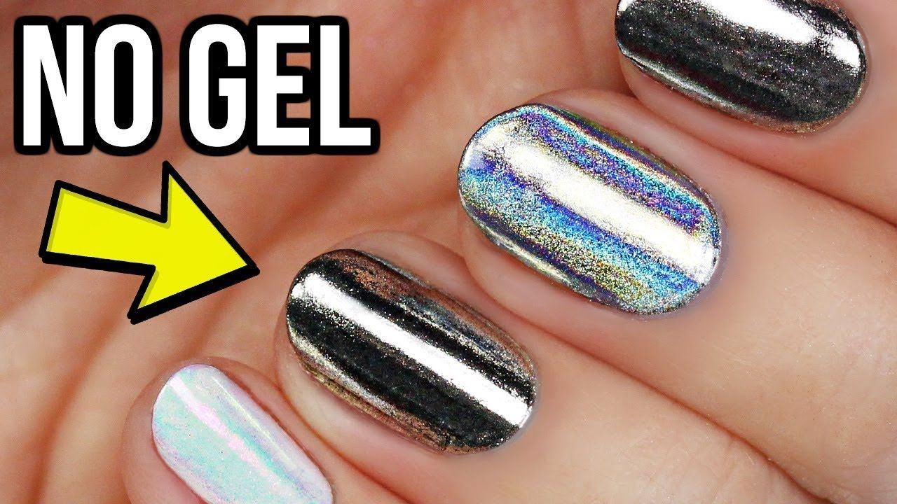 how to apply polygel nails without tips