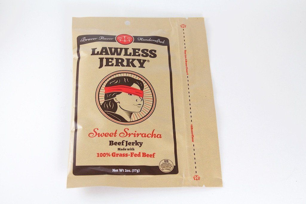 Sweet Sriracha Gourmet Beef Jerky