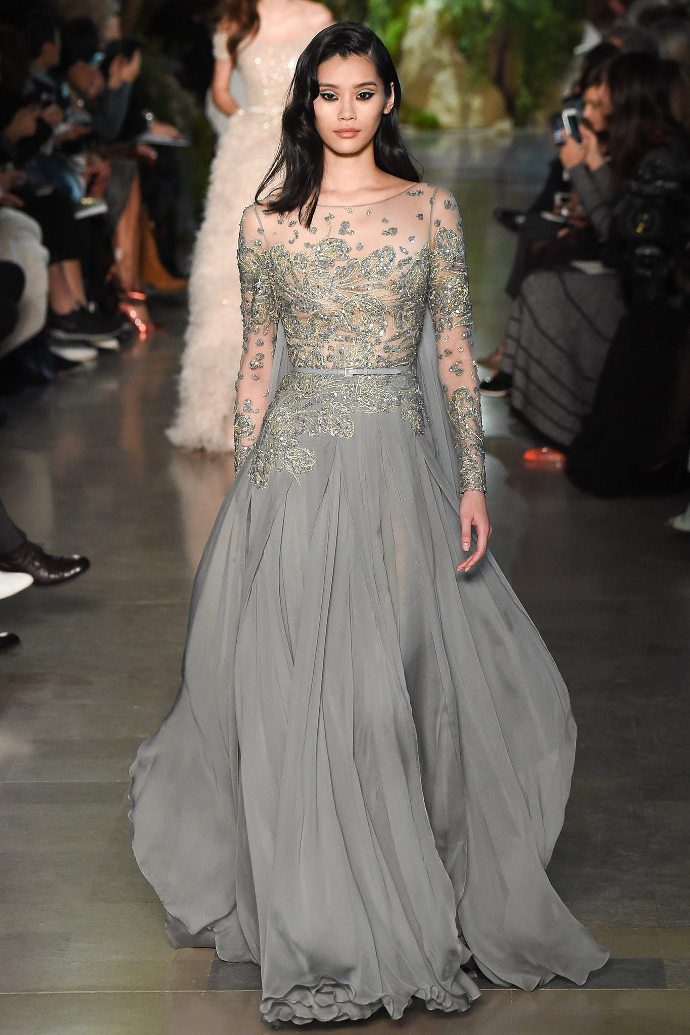 Elie saab spring couture fashion show elie saab spring and