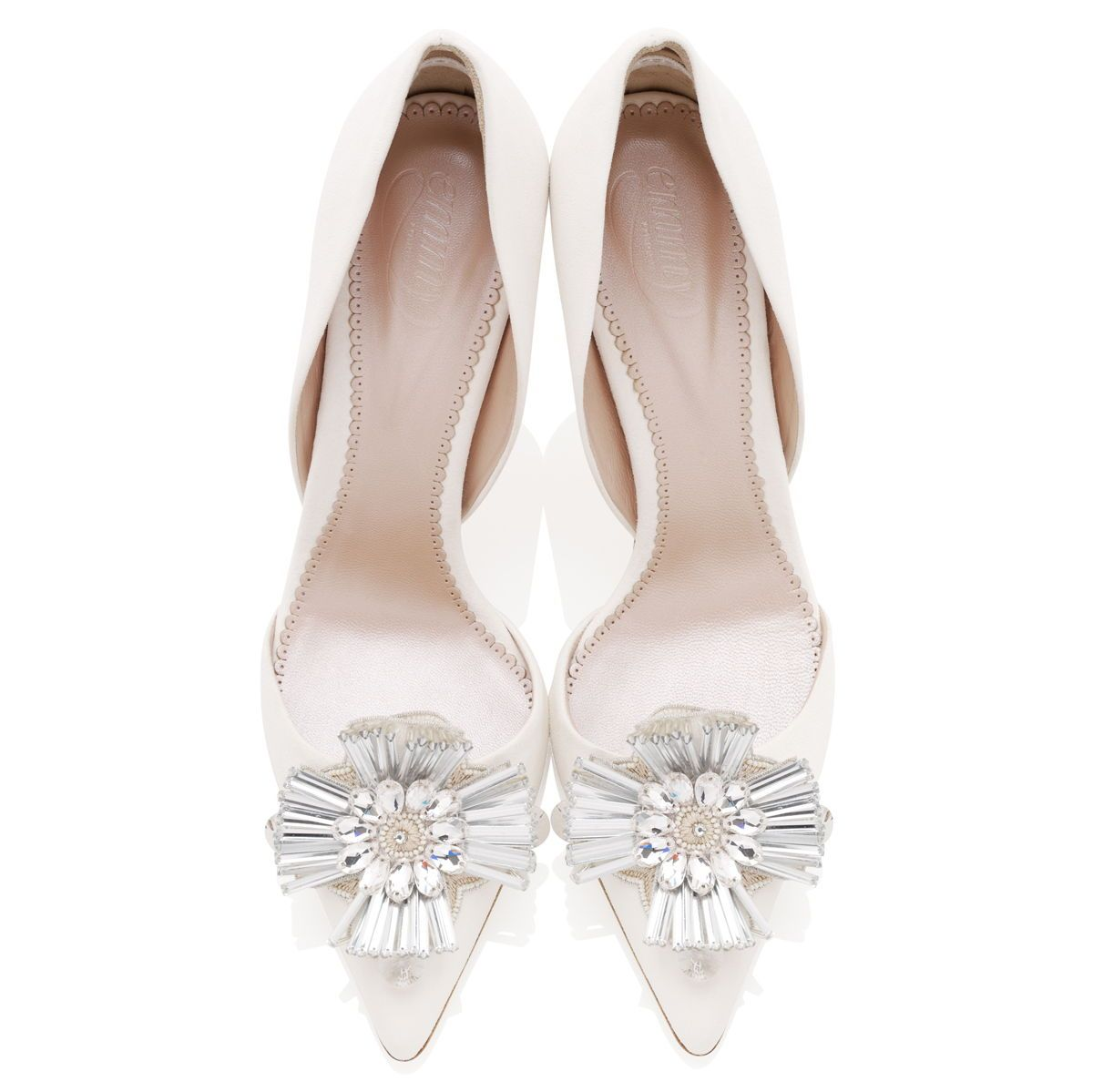 Rhinestone Wedding Bridal Bridesmaid Shoes Heels Clips Accessories Dance Party