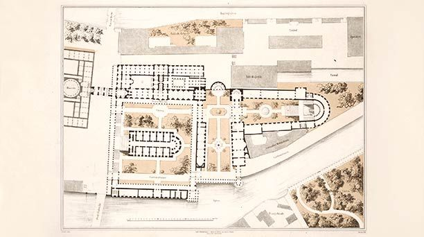 Overall Plan For The Museum Island Friedrich August Stuler 1841 Museum Island Island Concept